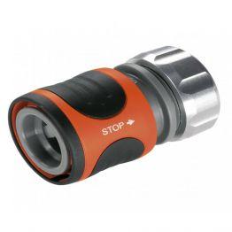 """Cút nối tự khóa đầu kim loại 13mm (1/2"""") Gardena 08168-20"""